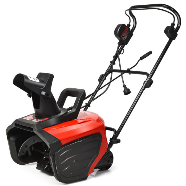 18-Inch 15 Amp Electric Snow Thrower Corded Snow Blower 720LbsMinute