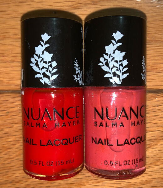 Nuance by Salma Hayek Nail LacquerNail Polish: Red Sienna & Orange Poppy