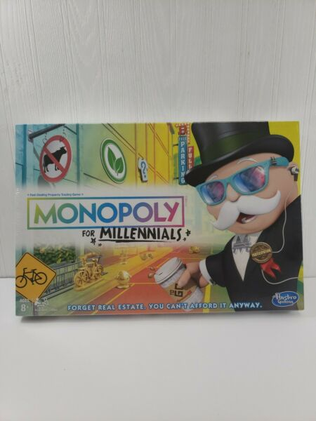 Monopoly for Millennial's Board Game. NEW