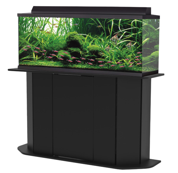 Deluxe 55 Gallon Aquarium Stand Storage Cabinet Fish Tank Holder Wood Doors New $112.30