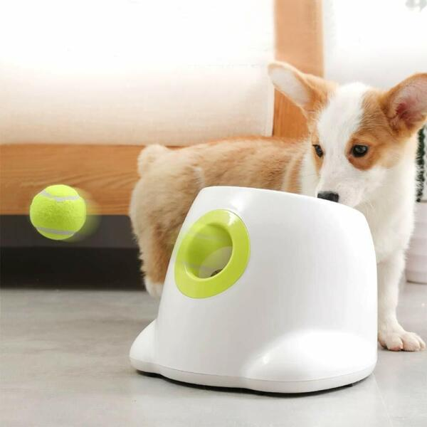 AFP Automatic Ball Launcher Dog Ball Thrower Machine Hyper Fetch Tennis Ball