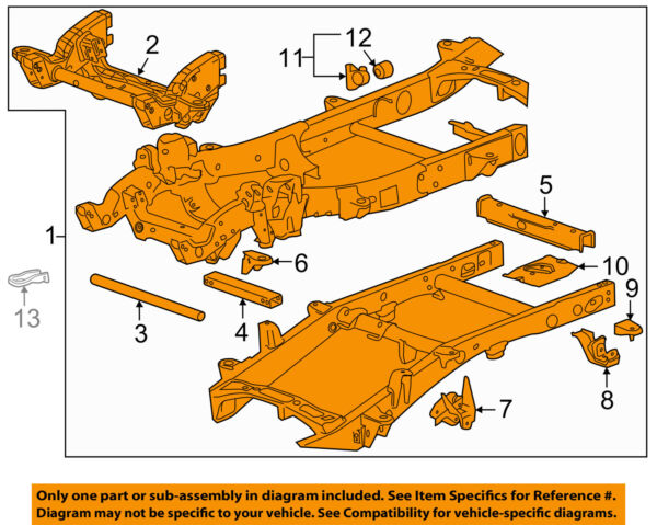 GM OEM-Frame Assembly 22892814
