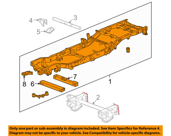 GM OEM-Frame Assembly 22832067