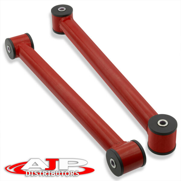 Red Rear Suspension Lower Control Trailing Arms Bars For 1982 2002 Chevy Camaro $74.99