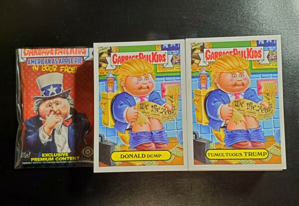 2016 Garbage Pail Kids American As Apple Pie In your Face 220 cards fresh packed