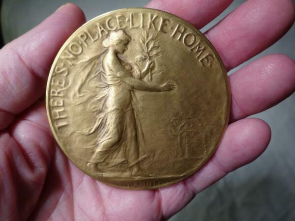 1910 Happiness of Hearth & HOME Circle of Friends Bronze Medal WBOOK Issue 2
