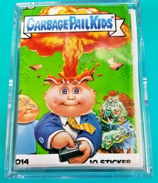 2014 GARBAGE PAIL KIDS SERIES 1 COMPLETE BASE SET 132 CARDS + WRAPPER 1ST GPK