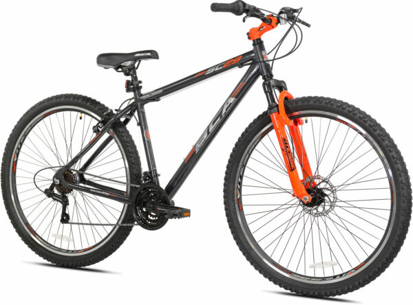 29-Inch Wheel Mens 21-Speed Mountain Bike Aluminum Frame Bicycle Outdoor Sports