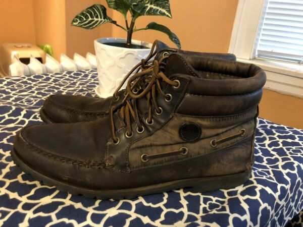 Timberland Original Chukka Oiled Style Leather Hiker Boot US Mens Size 12 Rare $75.00