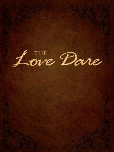 The Love Dare Christian Large Print Softcover
