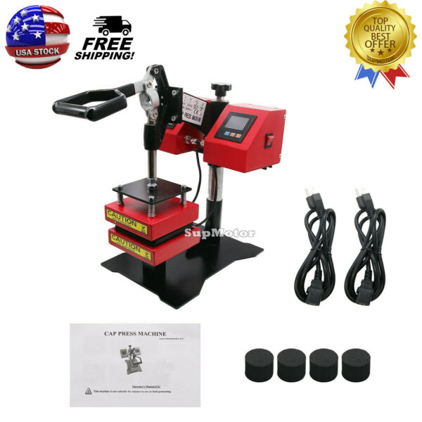Manual Rosin Heat Press Machine Dual Temperature Controllers Heated Plates USA