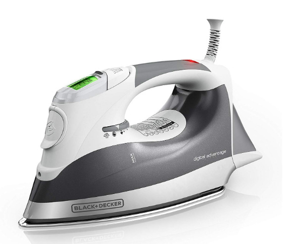 Black & Decker Digital Advantage Steam Iron - Grey - Brand New - Free Shipping