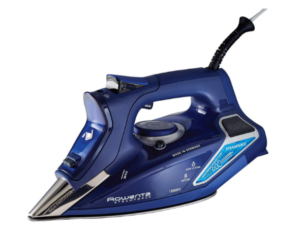 Rowenta DW9280 Digital Display Steam Iron Stainless Steel Soleplate 1800-Watt