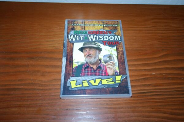 Red Green Live Wit And Wisdom Tour DVD New Sealed.