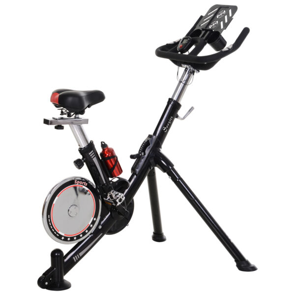 Upright Stationary Exercise Bike Indoor Cycling Bike w LCD Monitor $249.99