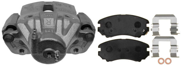 Disc Brake Caliper-Friction Ready Non-Coated Front Right fits 10-13 Kia Soul