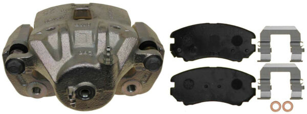 Disc Brake Caliper-Friction Ready Non-Coated Front Left fits 10-13 Kia Soul