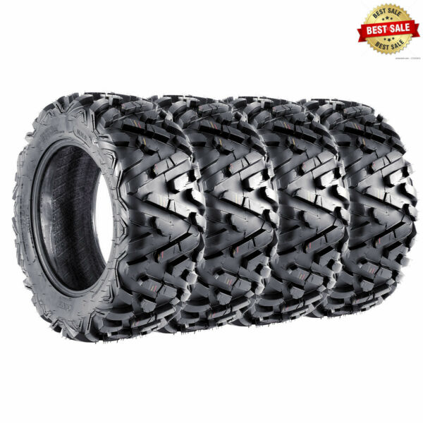 4 TIRE SET VANACC ATV TIRES 25