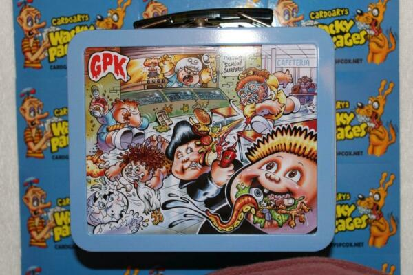 2020 GARBAGE PAIL KIDS LATE TO SCHOOL BLUE COLLECTOR EDITION EMPTY LUNCH BOX GPK