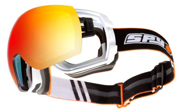 SPY snow LEGACY SUPER KOOL Snow Goggles - Old School White NIB LAST ONE LEFT