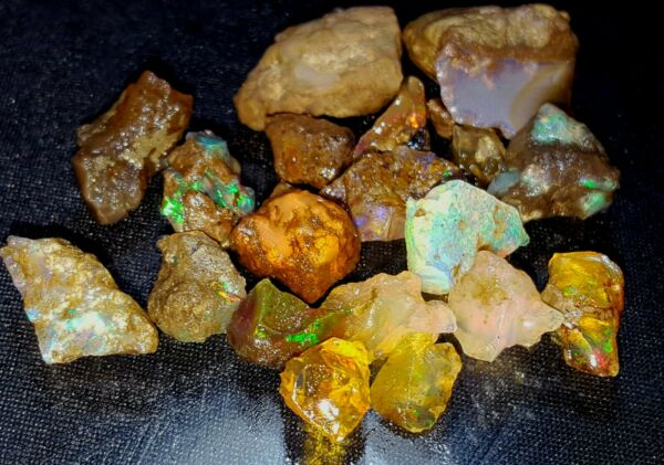 100% Natural 96 CTS Ethiopian Jumbo Fire Rare Rough Lot in loose gemstone F0 8 $99.99
