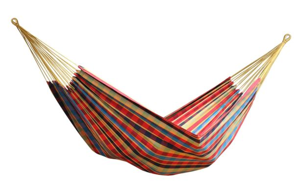 Vivere Brazilian Style Single Hammock for Camping or Outdoors Cotton BRAZ123 $28.99
