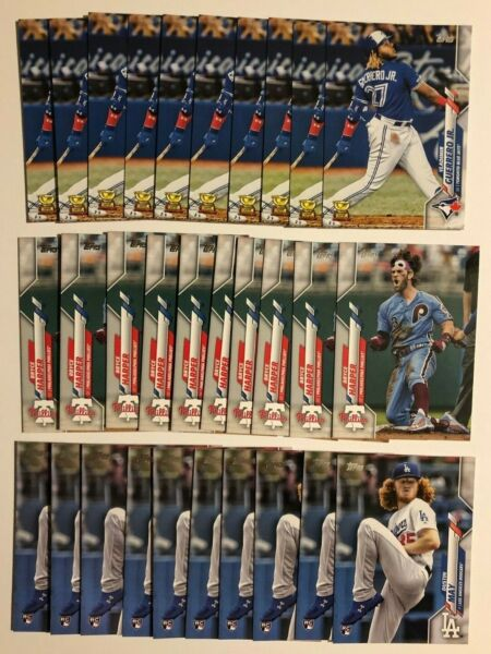 2020 Topps Series 1 BASE 176-350 - PICK YOUR CARD IN 10 COUNT LOTS