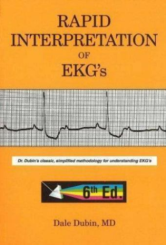 Rapid Interpretation of EKG's by Dale Dubin (2000 Paperback)FREE SHIPPING