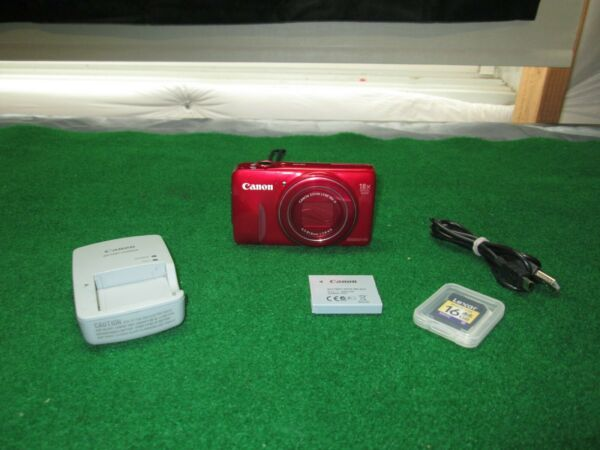 Canon Powershot SX600 HS 16MP 18X Zoom Digital Point and Shoot Camera