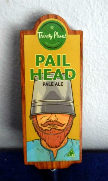 Thirsty Planet Pail Head Beer New 8 12