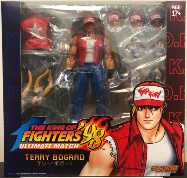 Storm Collectibles 112 Terry Bogard King of Fighters 98 Action Figure IN STOCK