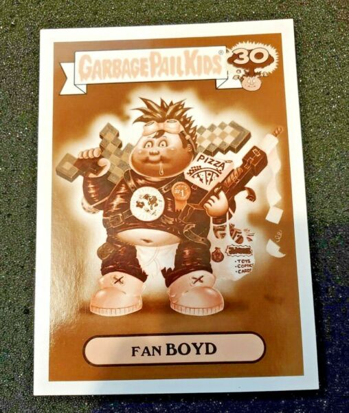 2015 Garbage Pail Kids 30th Anniversary Sepia Comic Book 1b Fan Boyd