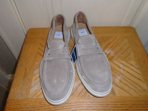 George Brown BILT Suede Loafers Size 10.5 M   NEW WITH TAGS
