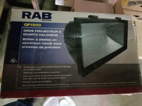 RAB Design QF1500 Quartz Halogen Light