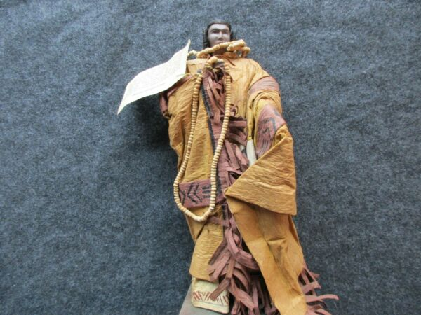 NATIVE AMERICAN CHEROKEE DOLL AUTHENTIC REGALIA MUSEUM QUALITY   SD-04268
