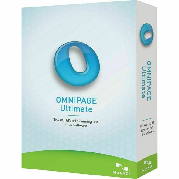Nuance OmniPage Ultimate 19-OCR Scanning -Licence - Windows
