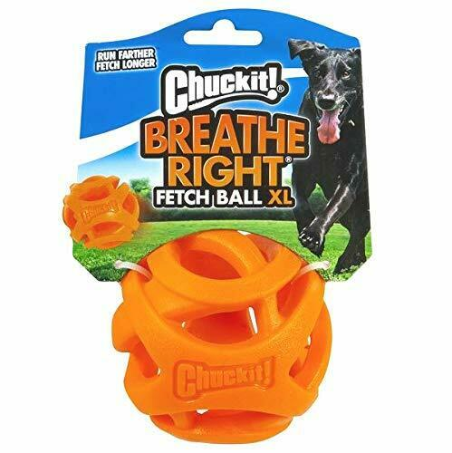 Chuckit! Breath Right Fetch Ball Extra Large for Dogs $10.61