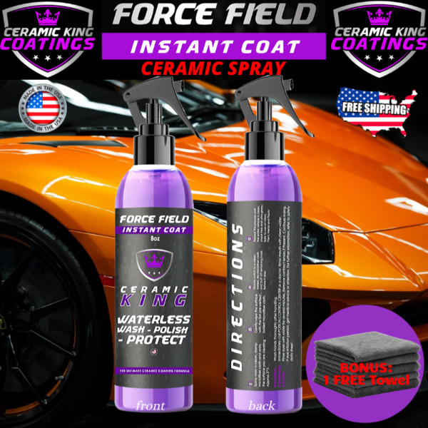 Force Field Ceramic King Polish Seal Shine Protect Armor Your Ride $17.95