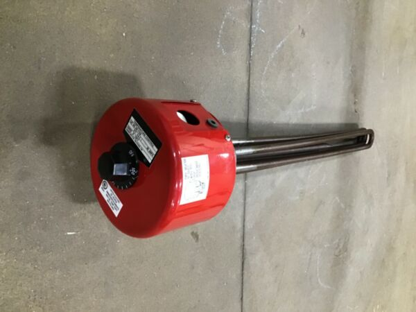CHROMALOX IMMERSION HEATER ARMTO 3455T1 050503126 480V AR 115A NEW $695.00