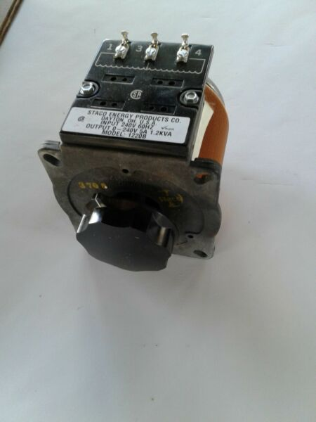 1020B Staco Energy Variable Transformers.