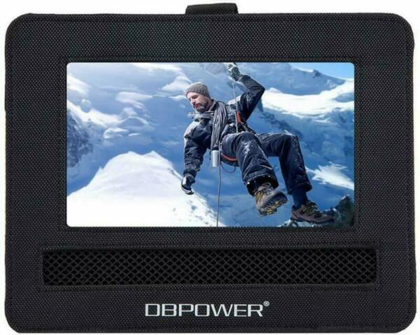 Car Portable DVD Player Headrest MOUNT ONLY 9 Inch Holder LCD Screen Strap Case $14.49