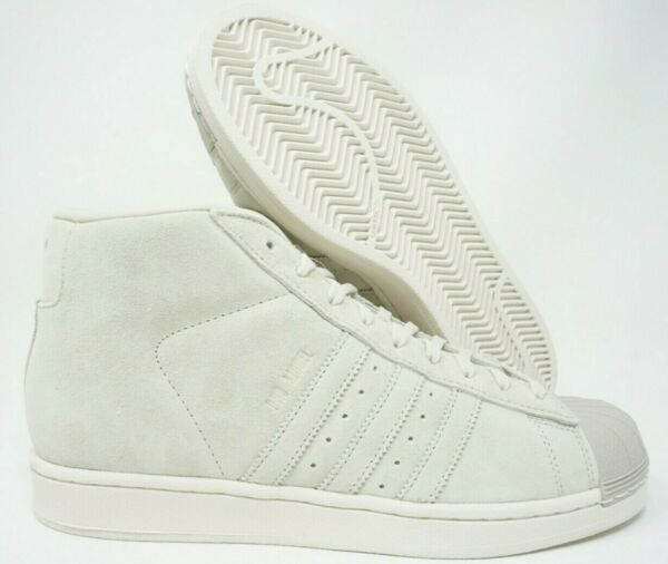 Adidas Originals Pro Model Mens Shoes Clear Brown Beige White BZ0213