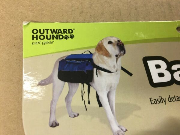Dog Hiking Backpack with quick release by Outward Hound Dog Large $24.99