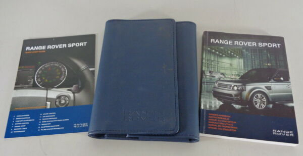 Document Kit + Manual Owner's Manual + Wallet Range Rover Sport Stand 2010