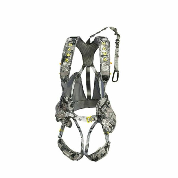 Hawk Elevate Pro Tree Stand Safety Harness HWK-HH700 Camouflage