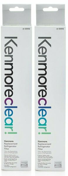 2 Pack Water Filter Fits Pure-Source ULTRAWF Ultra Kenmore Refrigerator 46-9999