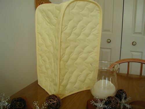 Yellow Blender Fabric Appliance Cover Cotton Blend and Solid LAST ONES