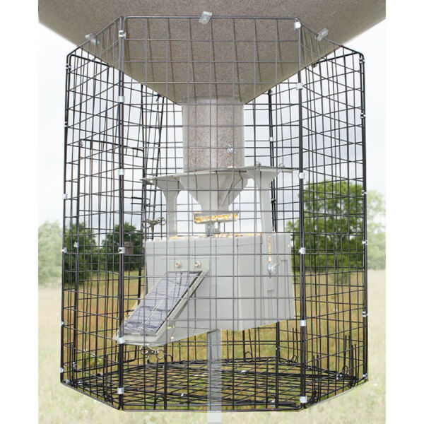 Boss Buck Hunting Large 24quot;x26quot; Heavy Duty Steel Varmint Cage Feeder Attachment