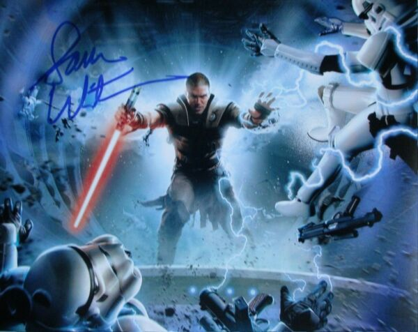 Sam Witwer Autographed Signed 8x10 Photo ( Star Wars ) REPRINT