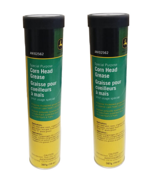 John Deere Corn Head Grease SET OF 2 AN102562
